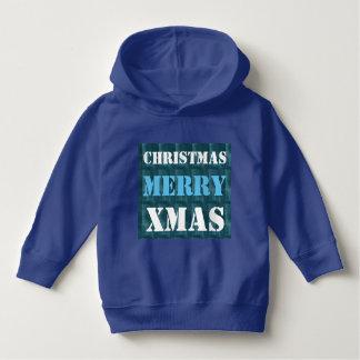 MERRY CHRISTMAS DIY template U can EDIT text Hoodie