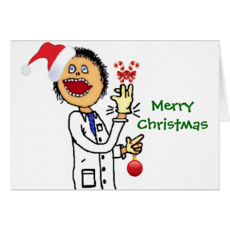 Merry Christmas Doctor Card