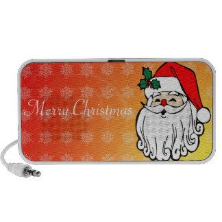 Merry Christmas Doodle Laptop Speakers