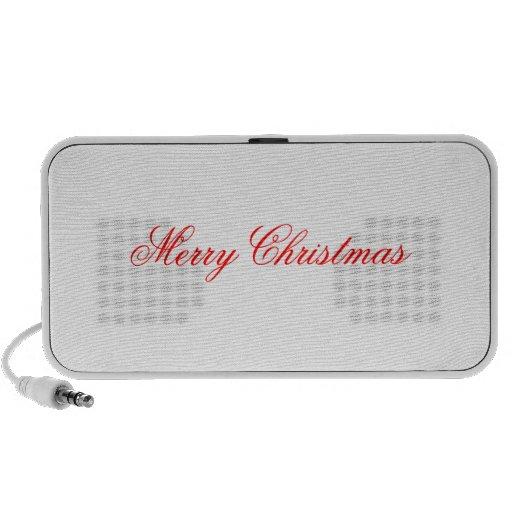 Merry Christmas doodle Speaker System