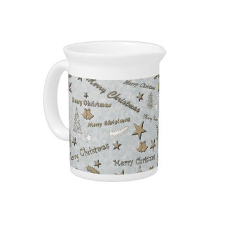 Merry Christmas Drink Pitcher