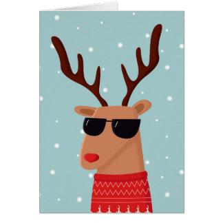 Merry Christmas Dude Christmas Card