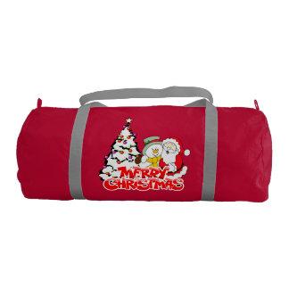 Merry Christmas Duffle Gym Bag