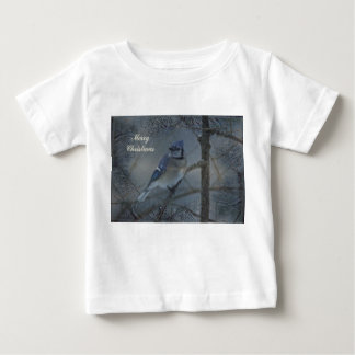 Merry Christmas - Eastern Blue Jay Shirt