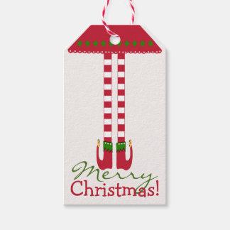 Merry Christmas Elf Legs
