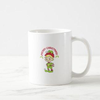 MERRY CHRISTMAS ELF MUGS