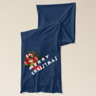 Merry Christmas Elf Scarf