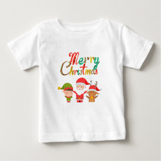 Merry Christmas Elf's Baby T-Shirt