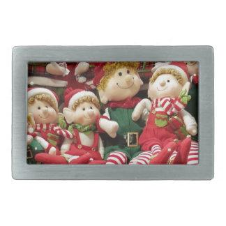 Merry Christmas Elves Belt Buckles