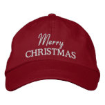 Merry Christmas Embroidered Baseball Cap/Hat Embroidered Hat