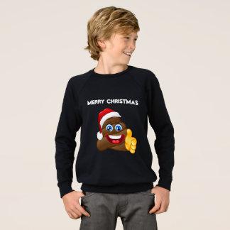 Merry Christmas Emoji Poop Stylish Sweatshirt! Sweatshirt