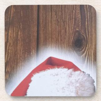 Merry Christmas Eve, Hat of Santa Drink Coaster