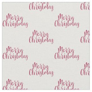 Merry Christmas Fabric