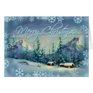MERRY CHRISTMAS FARM by SHARON SHARPE Card
