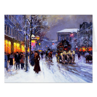 Merry Christmas. Fine Art Big Christmas Cards