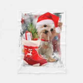 """""""Merry Christmas"""" Fleece Blanket"""