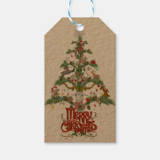Merry Christmas for GOAT LOVERS Christmas TREE Gift Tags