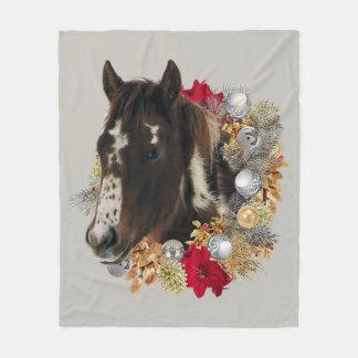 Merry Christmas From Brayley Fleece Blanket