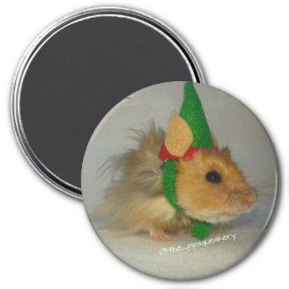 Merry Christmas from Chuck the Elf 7.5 Cm Round Magnet