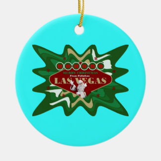 Merry Christmas from Las Vegas Ornament