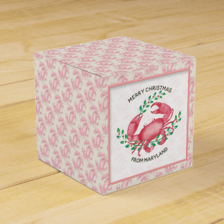 Merry Christmas from Maryland Christmas Crab Favour Box