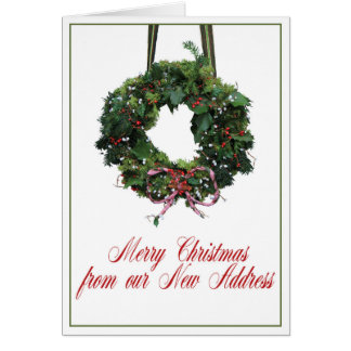Merry Christmas from New Home Card