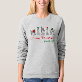 Merry Christmas from NYC New York City Sweatshirt