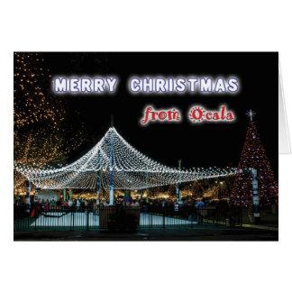 Merry Christmas from Ocala Card