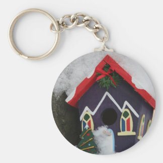 Merry Christmas from our house to yours! Basic Round Button Key Ring