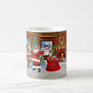 Merry Christmas from Santa Coffee Mug