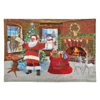 Merry Christmas from Santa Placemat