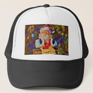 Merry Christmas from Santa Trucker Hat