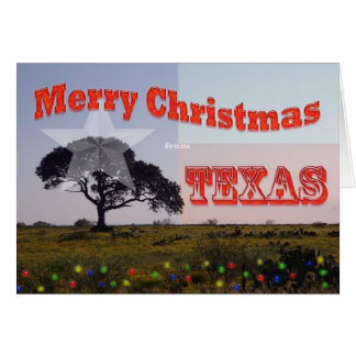 Merry Texas Christmas Greeting Cards | Zazzle.com.au