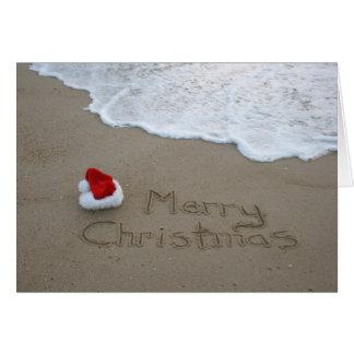 Merry Christmas from the Beach Card