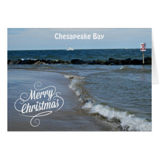 Merry Christmas from the Chesapeake Bay Card