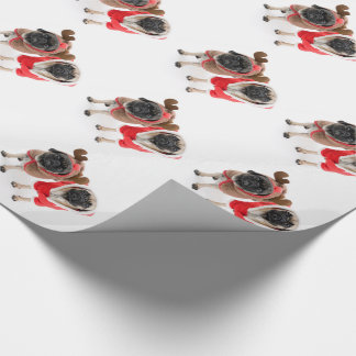 Merry Christmas from the Pugs Wrapping Paper