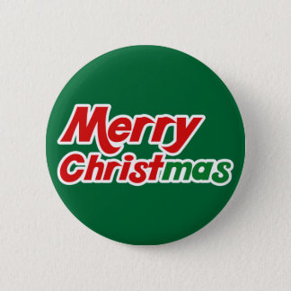 Merry Christmas Fun Flair Christian Buttons