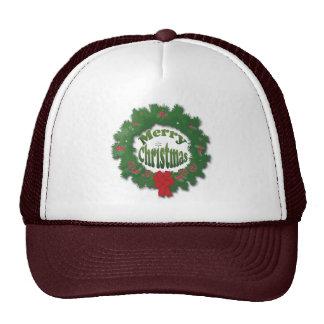 Merry Christmas Garland Cap
