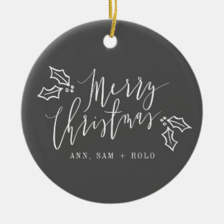 MERRY CHRISTMAS GIFT DECORATION