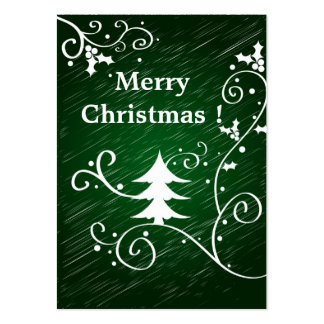 Merry Christmas ! - Gift tag card Pack Of Chubby Business Cards