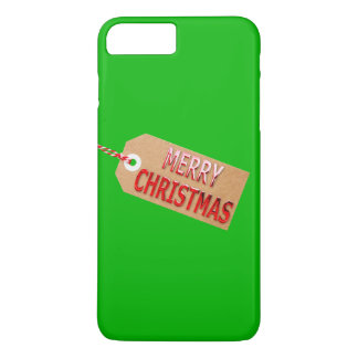 Merry Christmas Gift Tag iPhone 7 Pluse Case