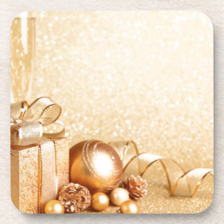MERRY CHRISTMAS GIFTS BEVERAGE COASTERS