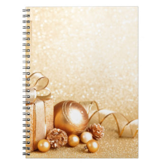 MERRY CHRISTMAS GIFTS SPIRAL NOTEBOOK
