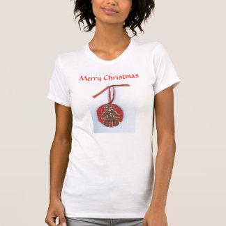 Merry Christmas Gingerbread Boy by Julia Hanna T Shirts