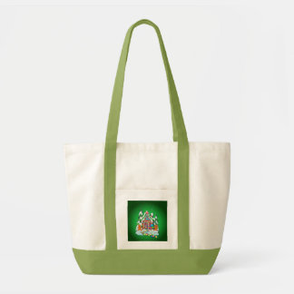 MERRY CHRISTMAS GINGERBREAD HOUSE by SHARON SHARPE Bags