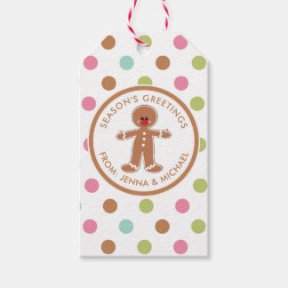 Merry Christmas   Gingerbread Man Gift Tags