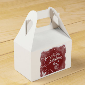 Merry Christmas Goodie Box Party Favour Boxes