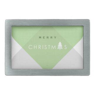 Merry Christmas - Green Belt Buckle