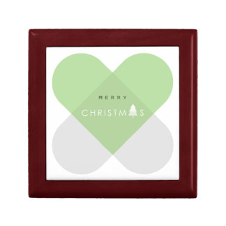 Merry Christmas - Green Gift Box