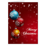 Merry Christmas Greeting Card - Customisable